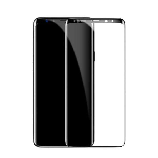 گلس بیسوس سامسونگ S9 تمام صفحه Asahi