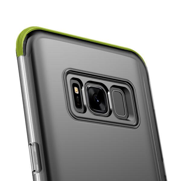 خرید قاب سامسونگ S8 بیسوس آرمور شفاف