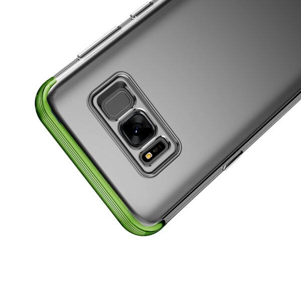 خرید فروش عمدهقاب سامسونگ S8 بیسوس آرمور شفاف