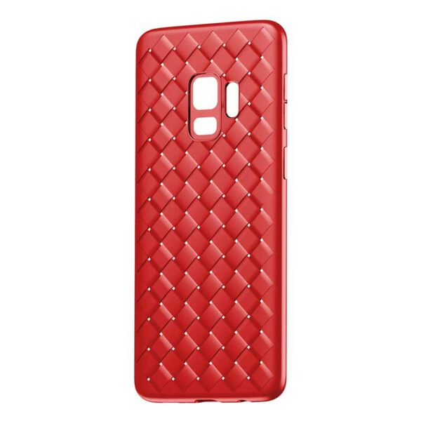قرمز قاب سامسونگ S9 بیسوس طرح بوتگا ونتا