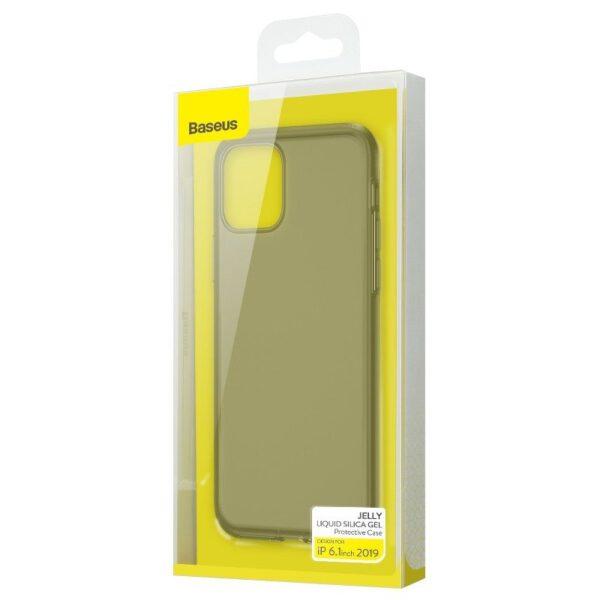 قاب آیفون بیسوس سیلیکونی شفاف 5.8/6.1/6.5 اینچی