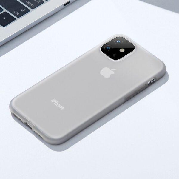 خرید قاب آیفون بیسوس سیلیکونی شفاف 5.8/6.1/6.5 اینچی