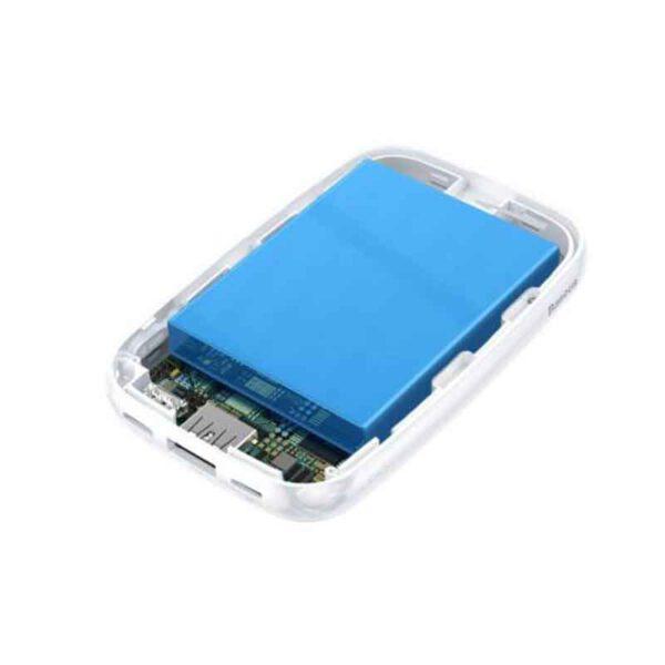خرید عمده پاوربانک بیسوس مدل Mini Q پسرونه 10000میلی آمپر