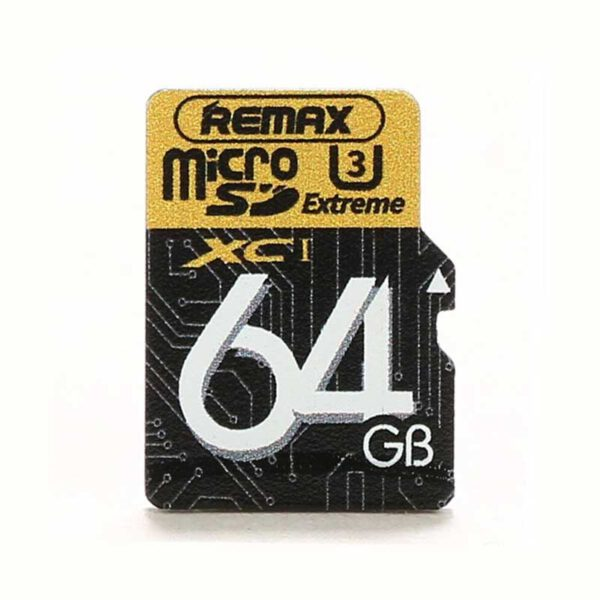 خرید کارت حافظه میکرو ریمکس 64 گیگابایت U3