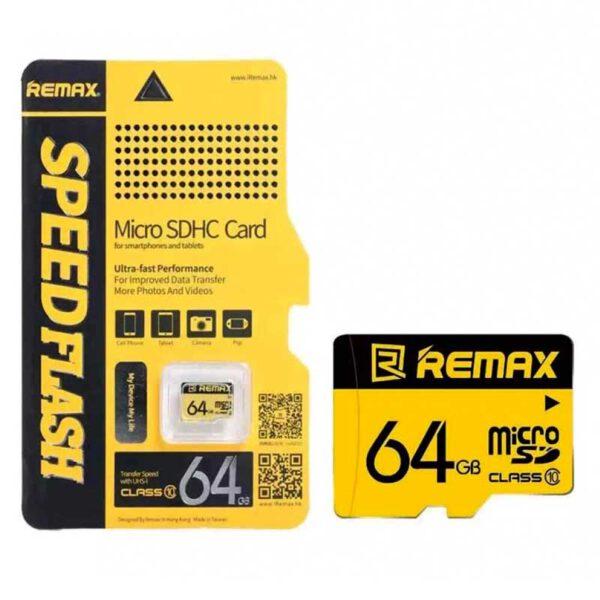 کارت حافظه میکرو ریمکس 64 گیگابایت C10