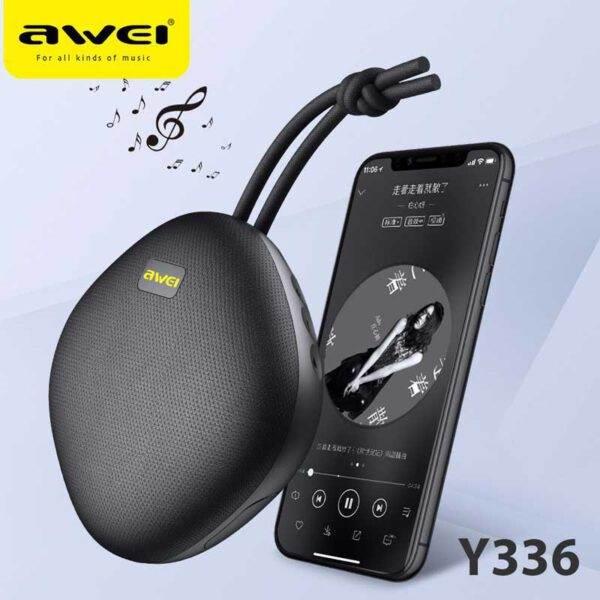 خرید اصلی اسپیکر بلوتوث ضد آب Awei Y336