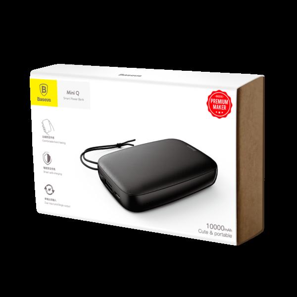 خرید پاوربانک بیسوس 10000 میلی آمپر مدل Mini Q
