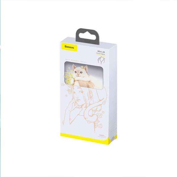 فروش عمده پاوربانک بیسوس10000 میلی آمپر مدل Mini JA Cat