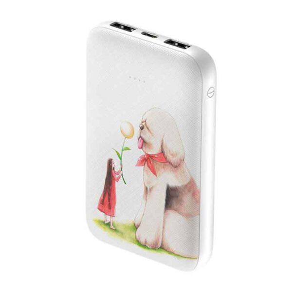 خرید عمده پاوربانک بیسوس 10000میلی آمپر مدل Mini JA Dog