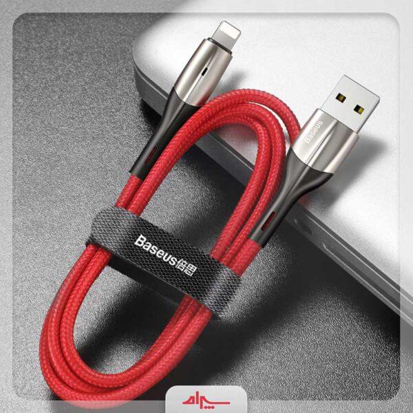 قیمت کابل شارژ آیفون بیسوس مدل Horziontal Data Cable