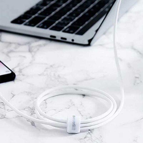 واردات کابل شارژ میکرو یو اس بی بیسوس مدل Mini White 4A