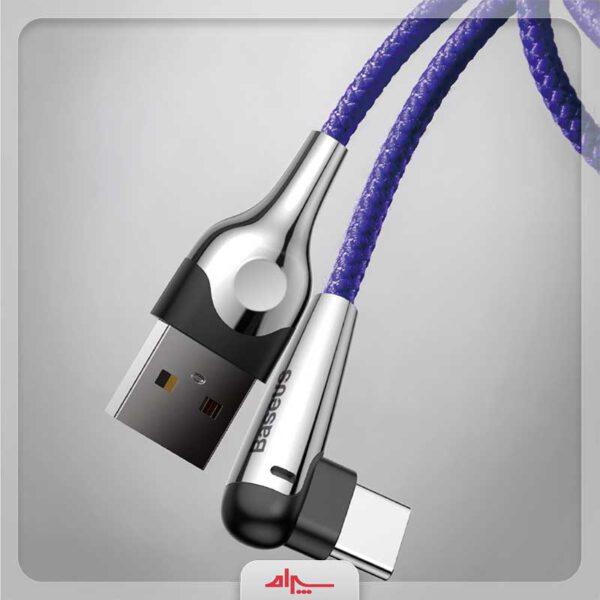 فروش کابل شارژ تایپ سی بیسوس مدل Sharp-Bird