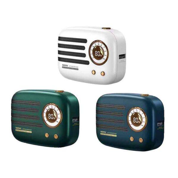 خرید عمده پاوربانک ریمکس 9000میلی آمپر مدل رادیو