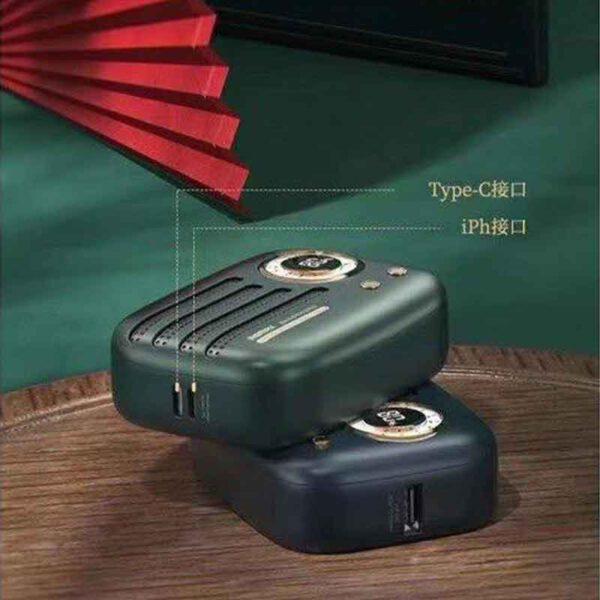 خرید پاوربانک ریمکس 9000میلی آمپر مدل رادیو