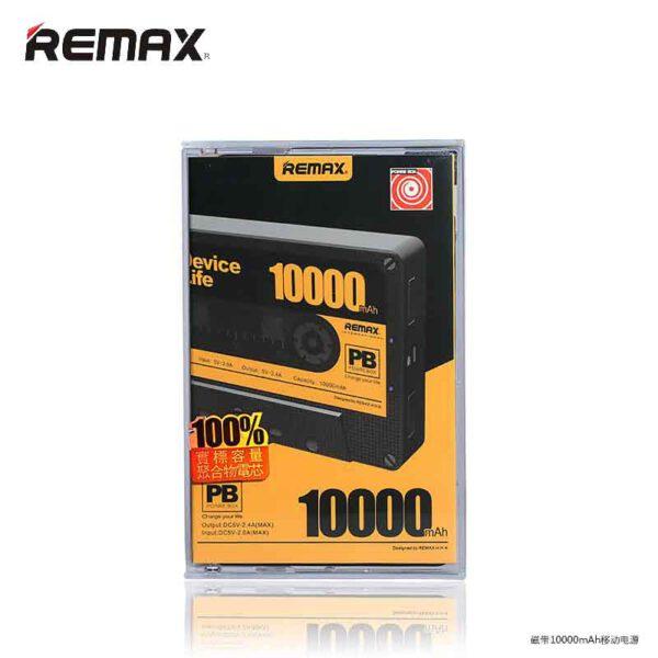 واردات پاوربانک ریمکس 10000 میلی آمپر مدل Tape
