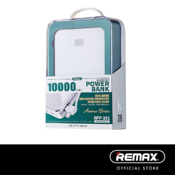 واردات عمده پاوربانک ریمکس 10000 میلی آمپر RPP-101