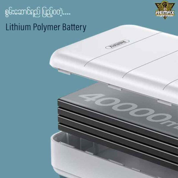 فروش عمده پاوربانک ریمکس 40000میلی آمپر مدل RPP-184