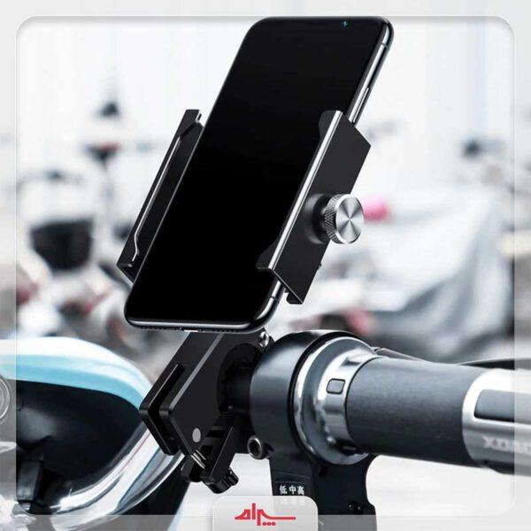 فروش هولدر موبایل بیسوس مدل Knight Motorcycle
