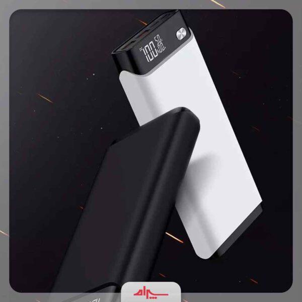 فروش عمده پاوربانک جویروم 30000 میلی آمپرساعت مدل D-M208