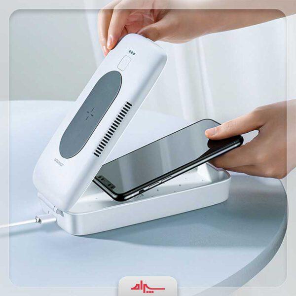 خرید شارژر بی سیم جوی روم مدل UVC-WP Box