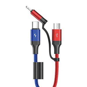 خرید کابل شارژ 3 در 1 جوی روم مدل S-M376