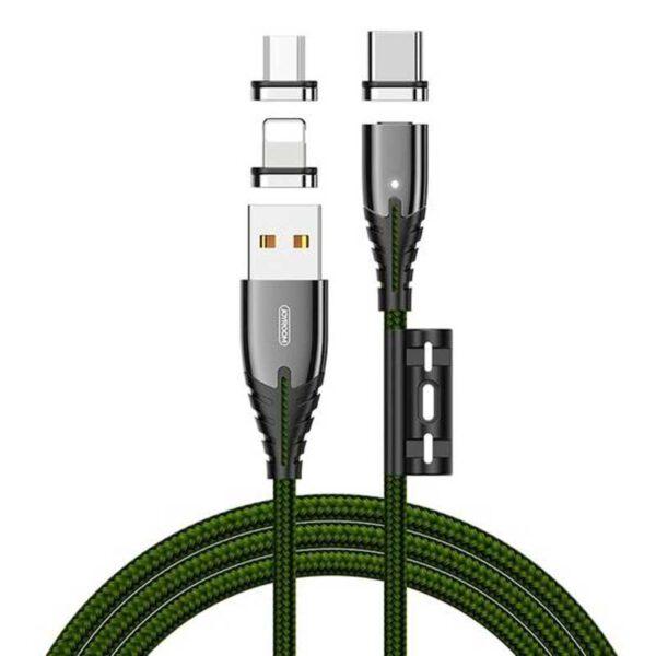 فروش کابل شارژ 3 در 1 جوی روم مدل S0M408