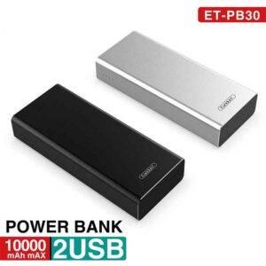 فروش پاوربانک ارلدام مدل ET-PB30 10000mAh