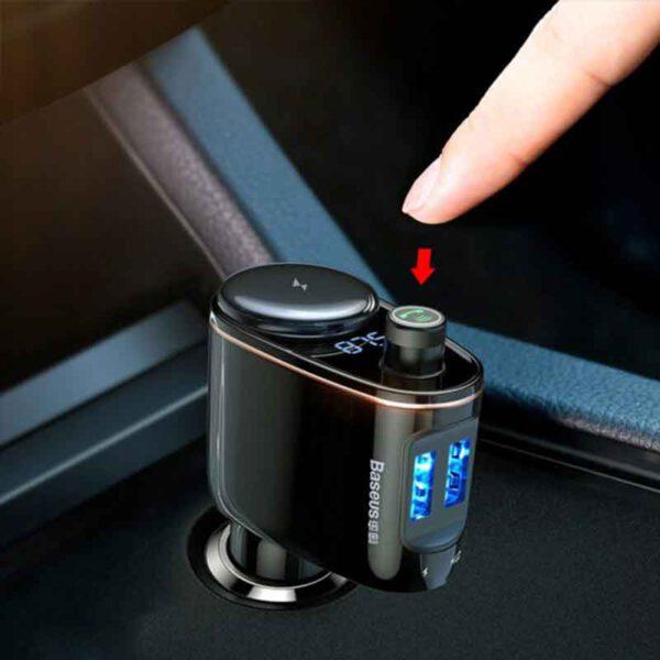 خرید عمده پخش کننده فندکی بیسوس مدلLocomotive Bluetooth CCALL-RH01