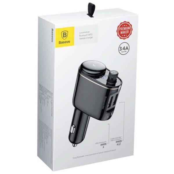 قیمت عمده پخش کننده فندکی بیسوس مدلLocomotive Bluetooth CCALL-RH01