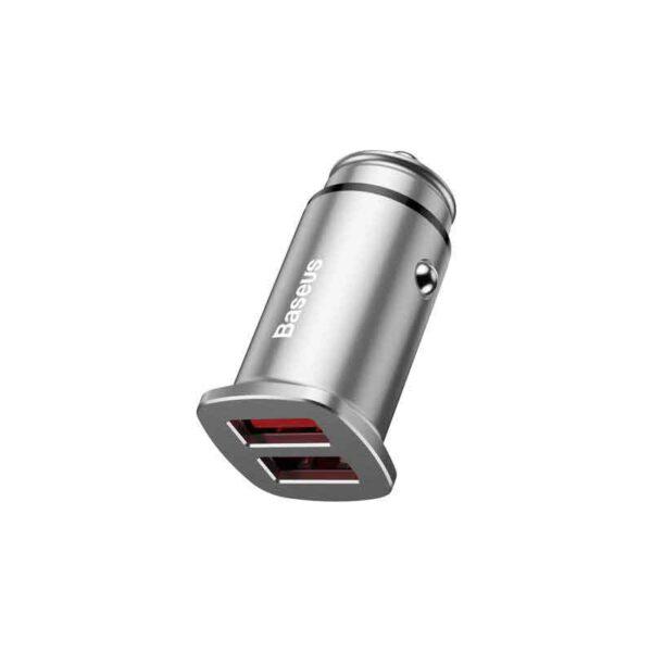 خرید شارژر فندکی دوگانه بیسوس مدل Square BC-C16C