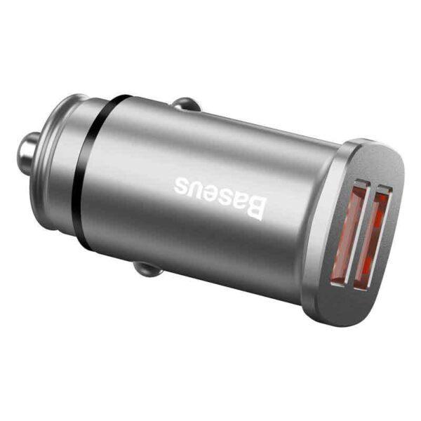 واردات عمده شارژر فندکی دوگانه بیسوس مدل Square BC-C16C