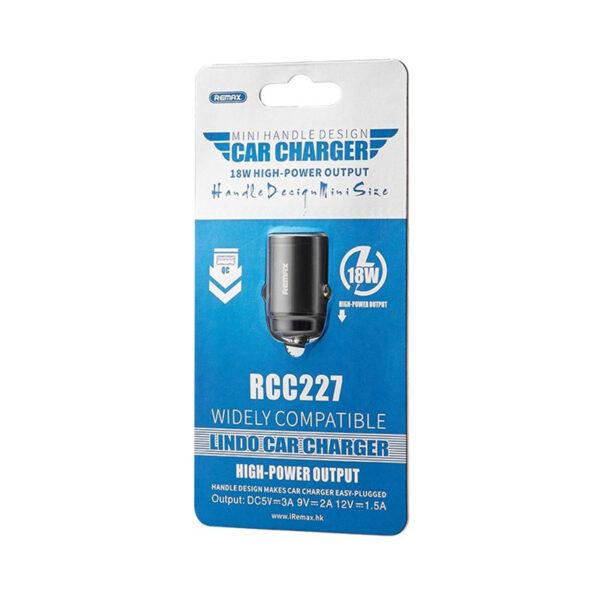 خرید عمده شارژر فندکی ریمکس مدل RCC227