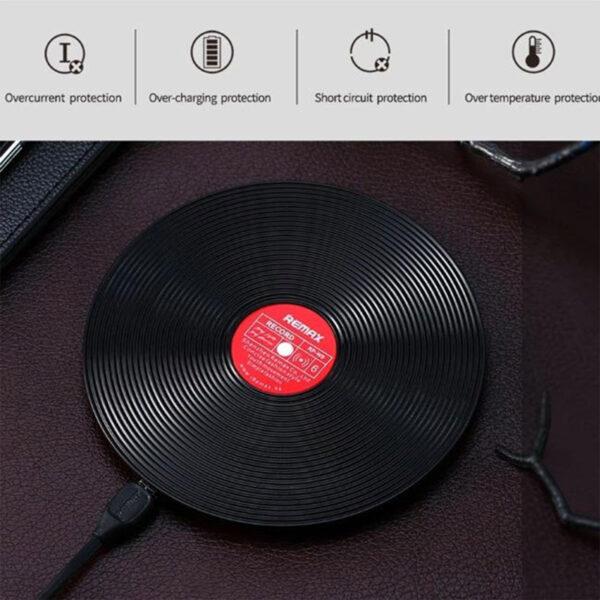 واردات شارژر بی سیم ریمکس مدل Vinyl RP-W9