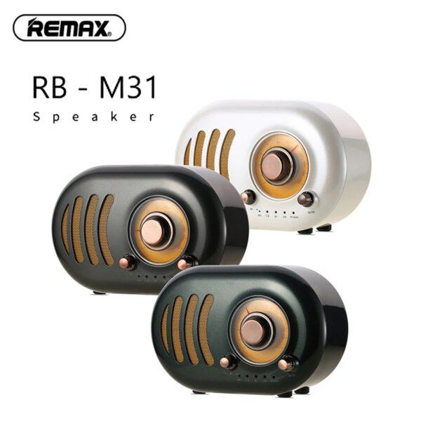 خرید اسپیکر بلوتوثی ریمکس مدل RB-M31