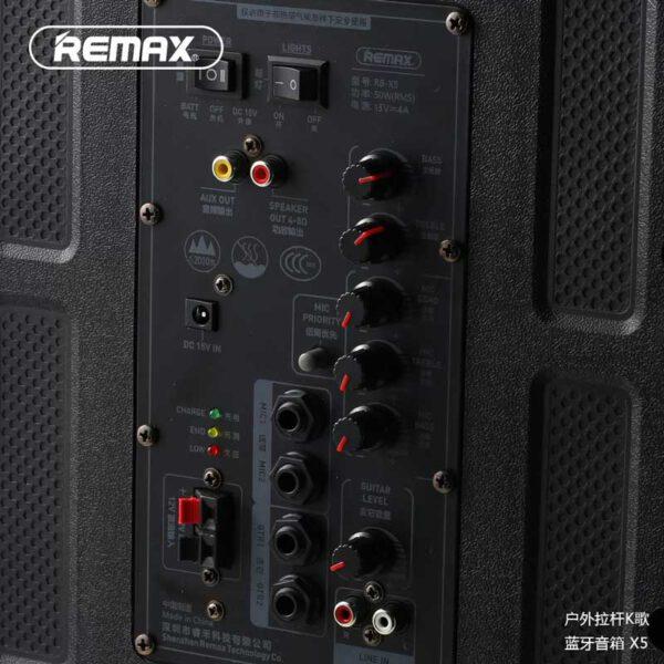 واردات اسپیکر بلوتوثی ریمکس مدل RB-X5