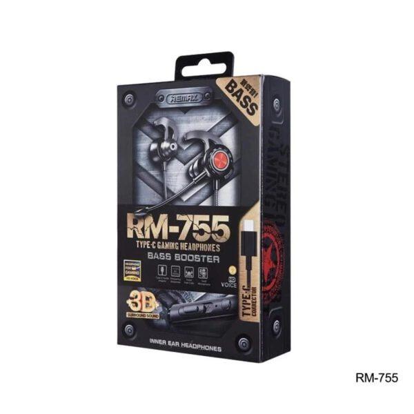 فروش هندزفری سیمی ریمکس مدل RM-755
