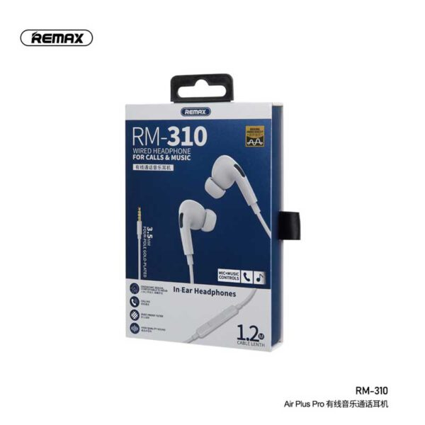 واردات هندزفری سیمی ریمکس مدل RM-310