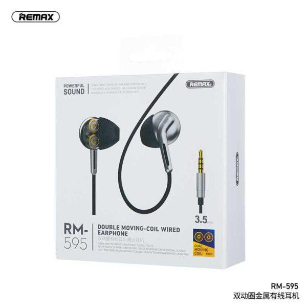 فروش هندزفری سیمی ریمکس مدل RM-595