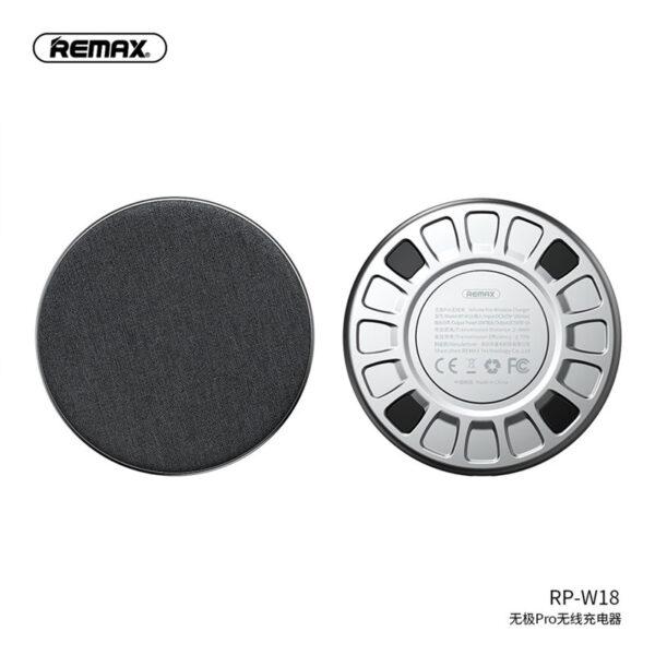 خرید عمده شارژر بی سیم ریمکس مدل Infinite RP-W18