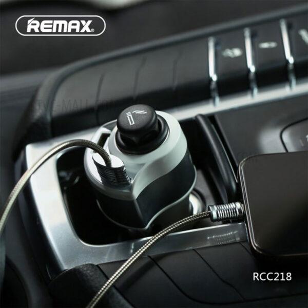 خرید عمده شارژر فندکی ریمکس مدل Journey RCC218
