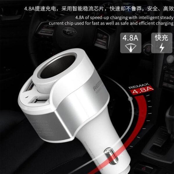فروش عمده شارژر فندکی ریمکس مدل Journey RCC218