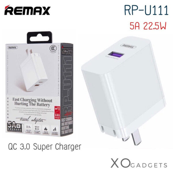 فروش عمده شارژر دیواری ریمکس مدل RP-U111