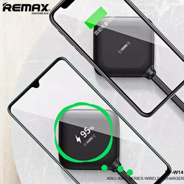 خرید عمده شارژر بیسیم ریمکس مدل Xiaoxia RP-W14