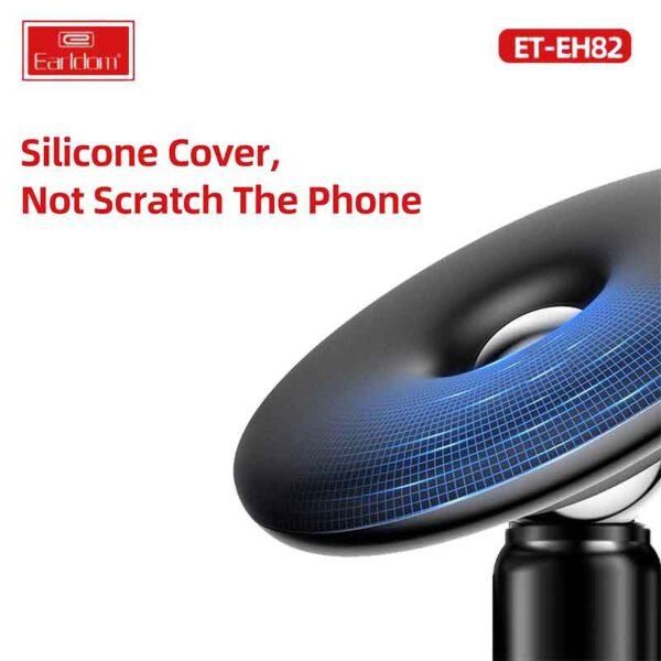 فروش عمده پایه نگهدارنده گوشی موبایل ارلدام مدل ET-EH82پایه نگهدارنده گوشی موبایل ارلدام مدل ET-EH82