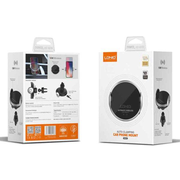 خرید هولدر و شارژر بیسیم موبایل الدنیو مدل MA02
